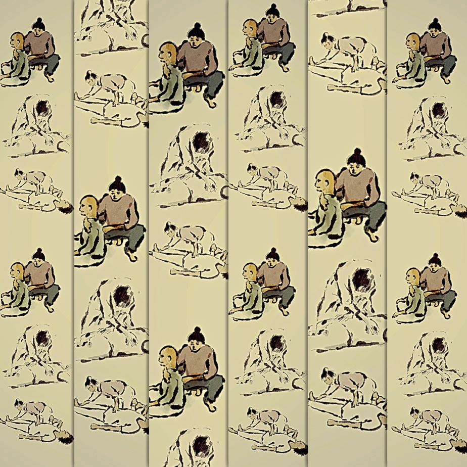Collage_Shiatsu_Figuren